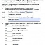 Tennessee Limited Power of Attorney - Durable Version